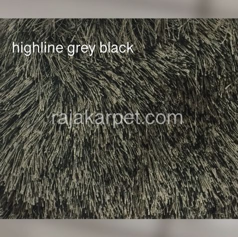 Karpet Bulu Highline 15 highline_grey_black